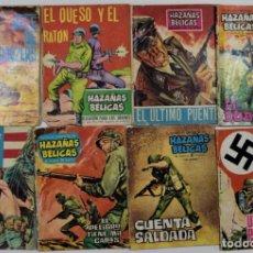 Tebeos: LOTE 8 TEBEOS COLECCIÓN HAZAÑAS BÉLICAS Nº 28, 41, 47, 50, 78, 127, 186 Y 263 - EDICIONES TORAY. Lote 253849095