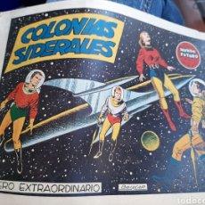 Tebeos: COLONIAS SIDERALES NÚMERO EXTRAORDINARIO. Lote 253886450