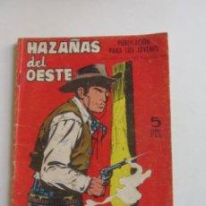 BDs: HAZAÑAS DEL OESTE Nº 141 EDICIONES TORAY, AÑO 1967 SDX03. Lote 253886615
