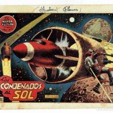 Tebeos: EL MUNDO FUTURO - AÑO I - Nº 2 - LOS CONDENADOS AL SOL (ORIGINAL) TORAY 1955. Lote 253887525