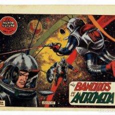 Tebeos: EL MUNDO FUTURO - AÑO I - Nº 4 - LOS BANDIDOS DE ANDROMEDA (ORIGINAL) TORAY 1955. Lote 253888525