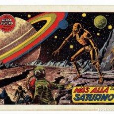 Tebeos: EL MUNDO FUTURO - AÑO I - Nº 6 - MÁS ALLÁ DE SATURNO (ORIGINAL) TORAY 1955. Lote 253892935