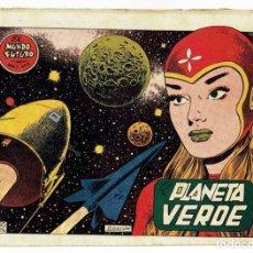 Tebeos: EL MUNDO FUTURO - AÑO I - Nº 5 - PLANETA VERDE (ORIGINAL) TORAY 1955. Lote 253893140