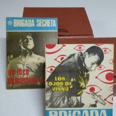 Tebeos: BRIGADA SECRETA - EDICIONES TORAY - COMPLETA. Lote 254074220