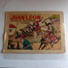 Tebeos: JUAN LEON Nº 3 TORAY ORIGINAL. Lote 254177685