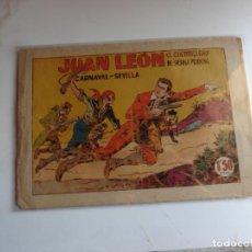 Tebeos: JUAN LEON Nº 8 TORAY ORIGINAL. Lote 254177960