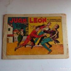 Tebeos: JUAN LEON Nº 2 TORAY ORIGINAL. Lote 254178270