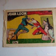 Tebeos: JUAN LEON Nº 15 TORAY ORIGINAL. Lote 254178470