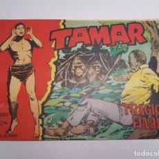 Tebeos: TORAY - TAMAR - 1961 - 136 TRAGICO FINAL. Lote 254257730