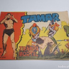Tebeos: TORAY - TAMAR - 1961 - 160 TRAMPA MORTAL. Lote 254261415
