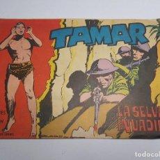 Tebeos: TORAY - TAMAR - 1961 - 166 LA SELVA INVADIDA. Lote 254262200