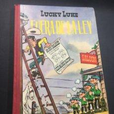 Tebeos: LUCKY LUKE -FUERA DE LA LEY 1'EDICION 1963. Lote 254479180