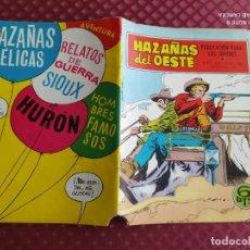 Tebeos: HAZAÑAS DEL OESTE Nº 188 AÑO 1969 TORAY MUY BUEN ESTADO. Lote 254632935