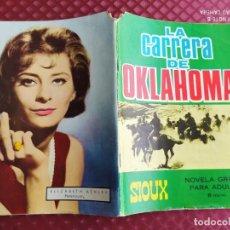 Tebeos: SIOUX Nº 66 LA CARRERA DE OKLAHOMA AÑO 1966 TORAY BUEN ESTADO ,SIN ESCRITOS NI ROTOS. Lote 254633580