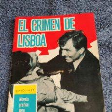 Tebeos: ESPIONAJE Nº 10 EL CRIMEN DE LISBOA ,1965 ,-TORAY -- BUEN ESTADO VER FOTOS. Lote 254828810