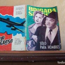 Tebeos: TORAY,- BRIGADA SECRETA NOVELA GRAFICA PARA ADULTOS Nº 99. Lote 254982785
