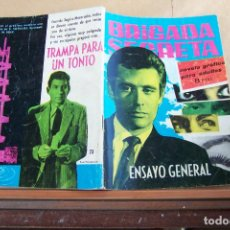 BDs: TORAY,- BRIGADA SECRETA NOVELA GRAFICA PARA ADULTOS Nº 23. Lote 254988085
