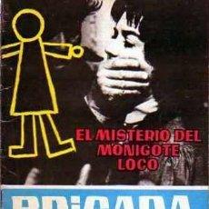 Tebeos: BRIGADA SECRETA- Nº 2 -EL MISTERIO DEL MONIGOTE LOCO-1962-GRAN JM BOIX-BUENO-DIFÍCIL-LEAN-4603. Lote 255591075