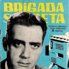 Tebeos: BRIGADA SECRETA- Nº 67 -MISTERIO EN LA TV-GRAN J.A. HUÉSCAR-1964-BUENO-DIFÍCIL-LEA-4606. Lote 255613335