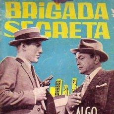 Tebeos: BRIGADA SECRETA- Nº 90 -ALGO MÁS QUE UN ATRACO-GRAN P.BERTRÁN-1965-CASI BUENO-MUY DIFÍCIL-LEAN-4607. Lote 255615740
