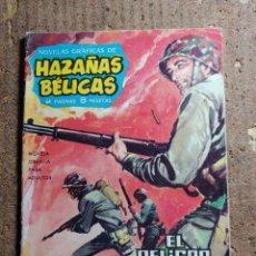Tebeos: COMIC DE AZAÑAS BELICAS EN EL PELIGRO TIENE MIL CARAS. Lote 255671125