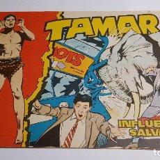 Tebeos: TORAY - TAMAR - 1961 - 34 INFLUENCIA SALVAJE. Lote 255941210