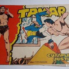 Tebeos: TORAY - TAMAR - 1961 - 37 CUMPLIENDO JUSTICIA. Lote 255941665