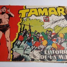 Tebeos: TORAY - TAMAR - 1961 - 43 EL TORRENTE DE LA MUERTE. Lote 255942970