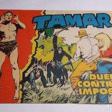 Tebeos: TORAY - TAMAR - 1961 - 50 DUELO CONTRA LO IMPOSIBLE. Lote 255944070