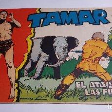 Tebeos: TORAY - TAMAR - 1961 - 54 EL ATAQUE DE LAS FIERAS. Lote 255944655