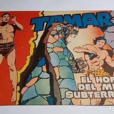Tebeos: TORAY - TAMAR - 1961 - 55 EL HORROR DEL MUNDO SUBTERRANEO. Lote 255944770