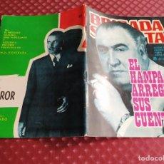 Tebeos: BRIGADA SECRETA 109 EL HAMPA ARREGLA SUS CUENTAS MUY BUEN ESTADO. Lote 256074965