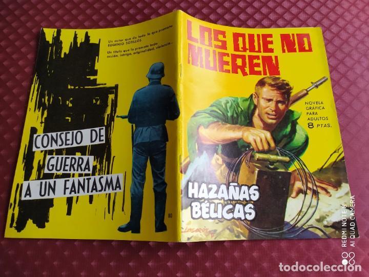 HAZAÑAS BELICAS 80 LOS QUE NO MUEREN MUY BUEN ESTADO (Tebeos y Comics - Toray - Hazañas Bélicas)