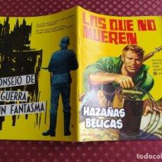 Tebeos: HAZAÑAS BELICAS 80 LOS QUE NO MUEREN MUY BUEN ESTADO. Lote 256075820