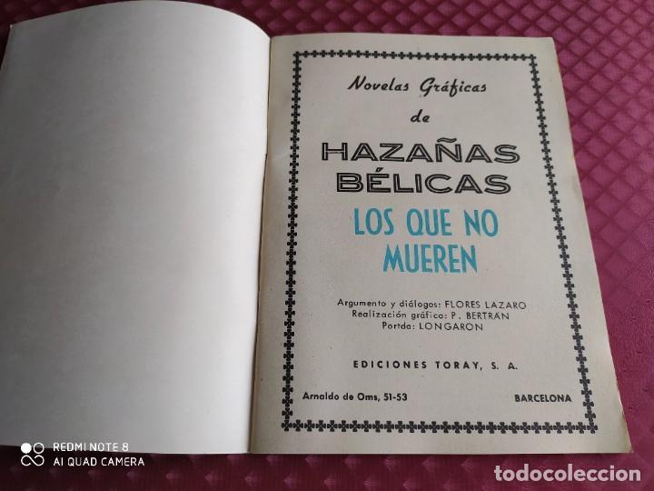 Tebeos: HAZAÑAS BELICAS 80 LOS QUE NO MUEREN MUY BUEN ESTADO - Foto 2 - 256075820