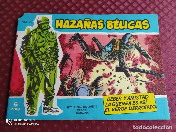 HAZAÑAS BELICAS AZULES VOL. 79 EN EXCELENTE ESTADO SIN USAR, HOJAS PEGADAS SIN ABRIR (Tebeos y Comics - Toray - Hazañas Bélicas)
