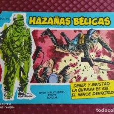 Tebeos: HAZAÑAS BELICAS AZULES VOL. 79 EN EXCELENTE ESTADO SIN USAR, HOJAS PEGADAS SIN ABRIR. Lote 256082095