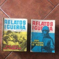 Tebeos: LOTE 56 NÚMEROS RELATOS DE GUERRA. Lote 257398860