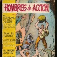 Tebeos: HOMBRES DE ACCIÓN. Nº 13. TORAY (C/A28). Lote 257613340