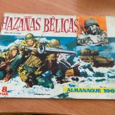 Tebeos: HAZAÑAS BELICAS ALMANAQUE 1960 (TORAY) ORIGINAL (COIB80). Lote 257655415