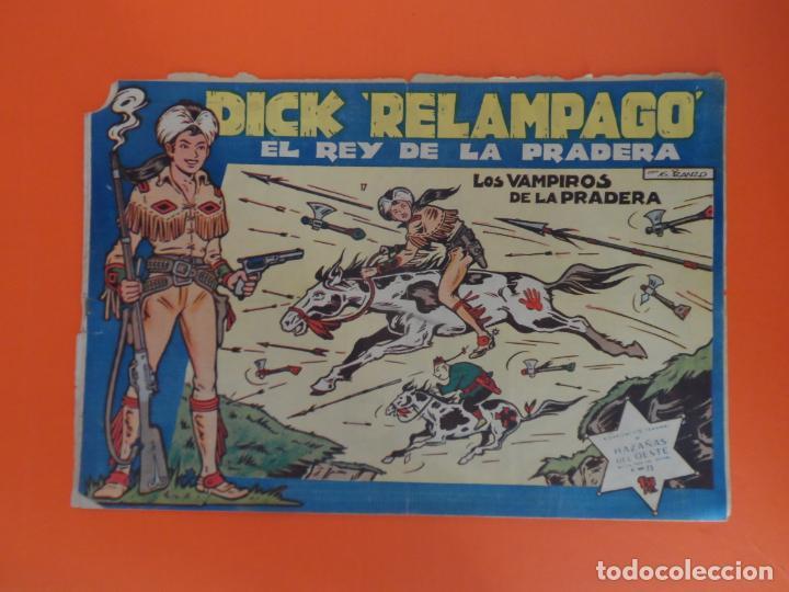 DICK RELAMPAGO Nº 17 EDICIONES TORAY ORIGINAL (Tebeos y Comics - Toray - Dick Relampago)
