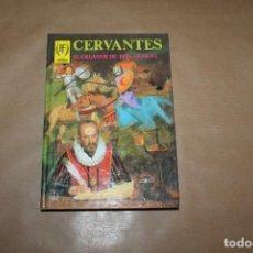 Tebeos: CERVANTES , HOMBRES FAMOSOS, TAPA DURA , EDITORIAL TORAY. Lote 257695565