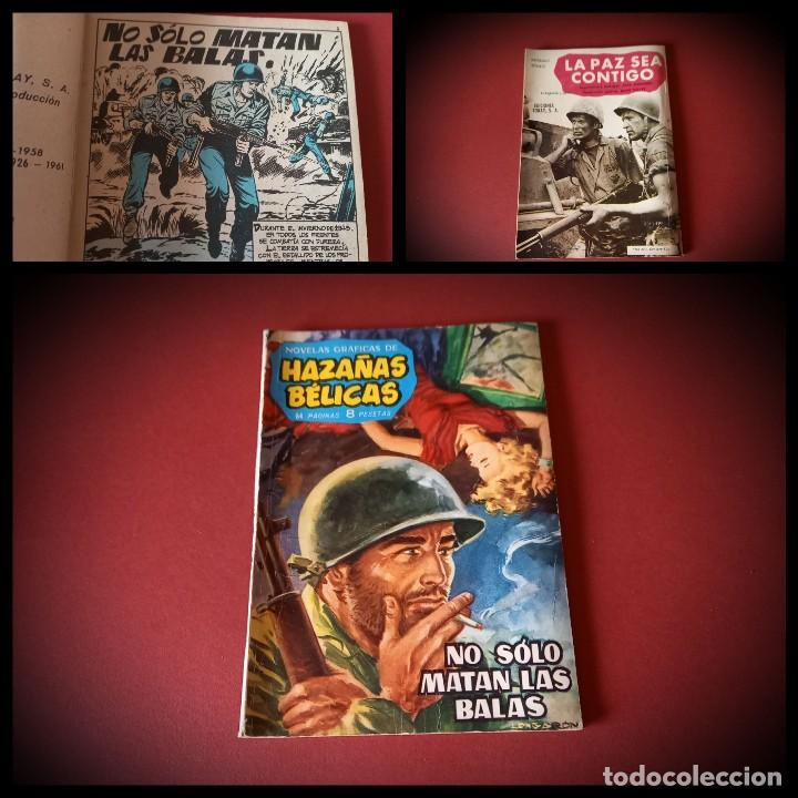 HAZAÑAS BELICAS Nº 4 -TORAY 1961 - EN BUEN ESTADO- EJEMPLAR DIFICIL (Tebeos y Comics - Toray - Hazañas Bélicas)