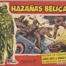 Giornalini: HAZAÑAS BELICAS : NUMERO 68 ESCUELA DE COMANDOS, EDITORIAL TORAY. Lote 258009970