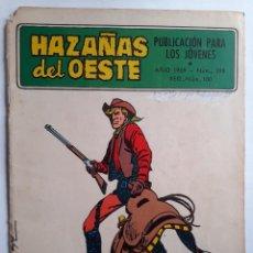 Tebeos: HAZAÑAS DEL OESTE- Nº 198 -JOSÉ ORTIZ-ANTONIO PÉREZ- BUENO-ÚNICO EN TODOCOLECCIÓN-1969-LEAN-4636. Lote 258498465