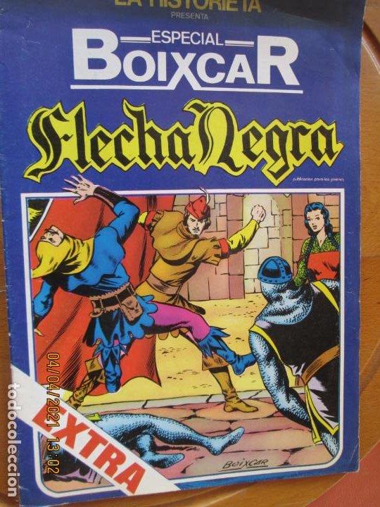 FLECHA NEGRA - EXTRA ESPECIAL BOIXCAR -MIDESA 1980 FOMATO GRAPA Nº 1 (Tebeos y Comics - Toray - Flecha Negra)