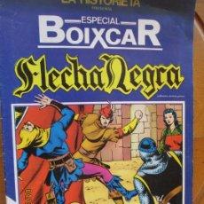 Tebeos: FLECHA NEGRA - EXTRA ESPECIAL BOIXCAR -MIDESA 1980 FOMATO GRAPA Nº 1. Lote 258785005