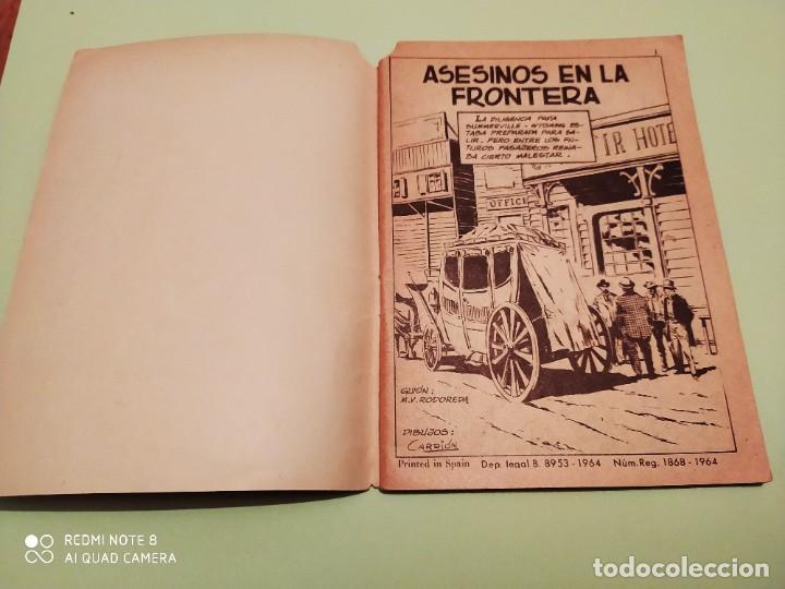 Tebeos: SIOUX NOVELA GRAFICA Nº 2 ASESINOS EN LA FRONTERA TORAY 64 PAGINAS ELKE SOMMER - Foto 2 - 258806820