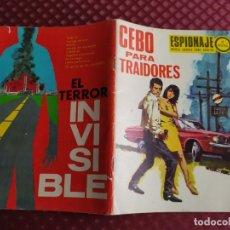 Tebeos: ESPIONAJE 69 CEBO PARA LOS TRAIDORES TORAY NOVELA GRAFICA EN BASTANTE BUEN ESTADO. Lote 259034585