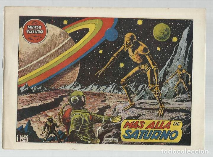 EL MUNDO FUTURO 6, 1955, TORAY, ORIGINAL, BUEN ESTADO (Tebeos y Comics - Toray - Mundo Futuro)